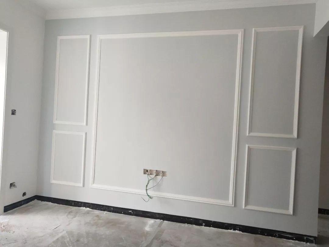 又搞错了?石膏线竟然已经淘汰!高大上的背景墙DIY的7个步骤! 「每日一答」113