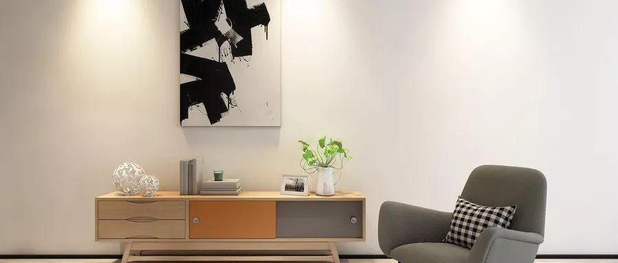 打造北欧风?一沙发一茶几一桌一柜一灯一挂画足矣。【小助手来给大家送福利啦】