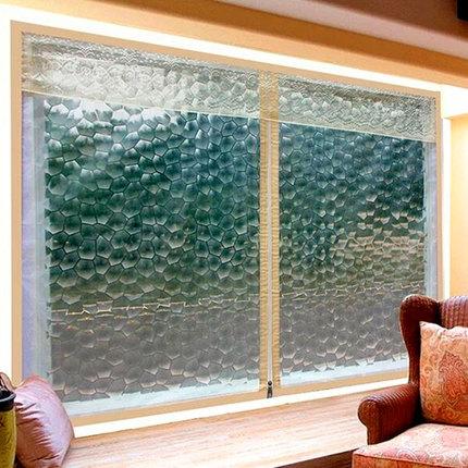 隔热窗帘密封窗户防风夏季遮光卧室防晒保温膜挡风防尘遮阳防寒